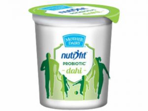 Mother Dairy Nutrifit Probiotic Curd (cup) 200g