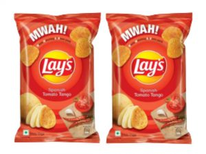 Lay's Spainish Tomato Tago Potato Chips Pack of 2 (115g)